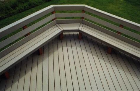 benches built  comfort professional deck builder