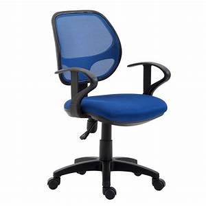 Chaise De Bureau Pour Enfant COOL Bleu Mobil Meubles