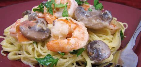 recete de cuisine recettes de pâtes aux crevettes recettes allrecipes québec