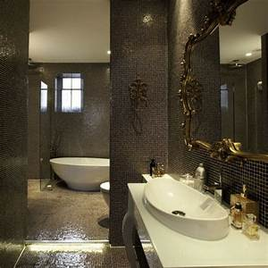 miroir baroque pour salle de bain maison design bahbecom With carrelage adhesif salle de bain avec lampe led 9w