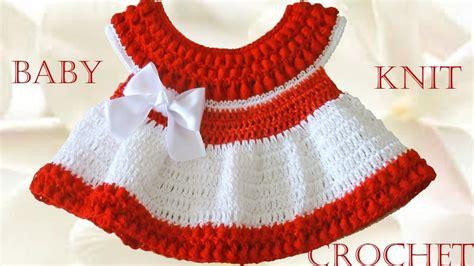 Vestido a crochet para Bebe Learn Crochet Knit YouTube