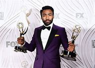 Donald Glover Suit Purple