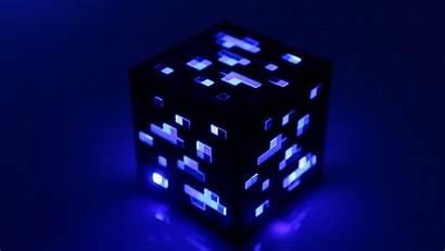Minecraft Ore Diamond Thinkgeek Night