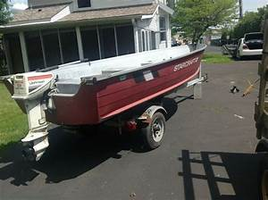 Starcraft Boat W  Trailer  15 Hp Evinrude  Loaded With