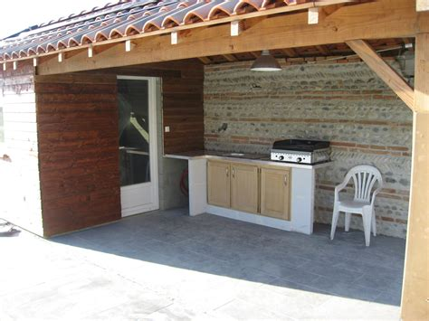 cuisine ete bois cuisine d ete en beton cellulaire ma nouvelle salle de