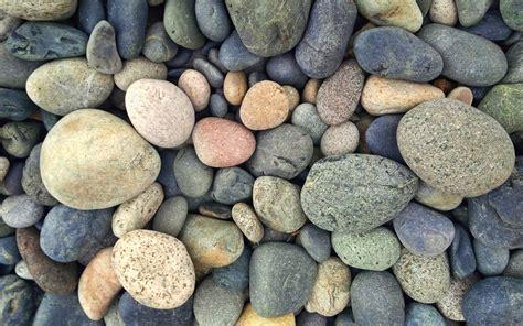 Wallpaper Pebble, Stone, Multicolored Sea Stones