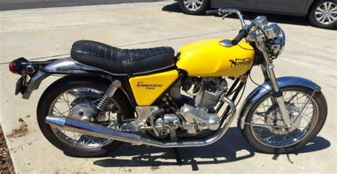 1970 Norton Commando 750 Motorcycle Collector's Show Bike