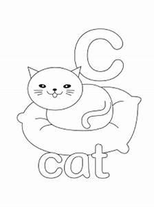 letter c color page - alphabet coloring pages mr printables