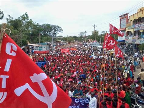 Resolution Adopted in General Council Meeting of CITU at ...