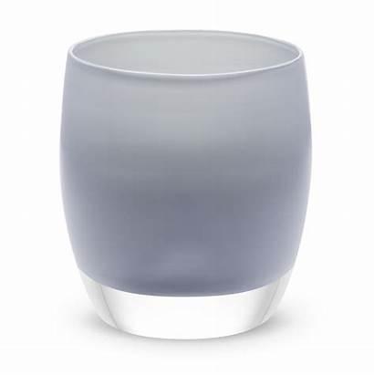 Glass Grey Candle Candles Beluga Glassybaby Holder