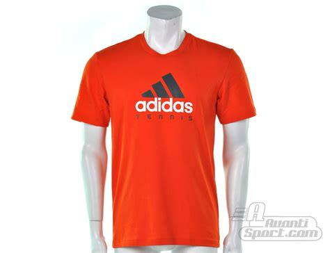 adidas mens tennis sequentials logo tee adidas tennis  shirts avantisportnl