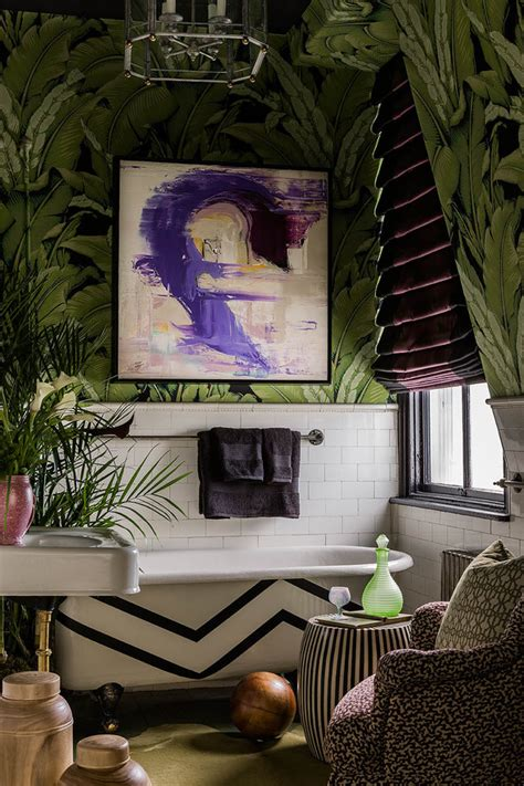 iconic wall  floral palm  banana leaf