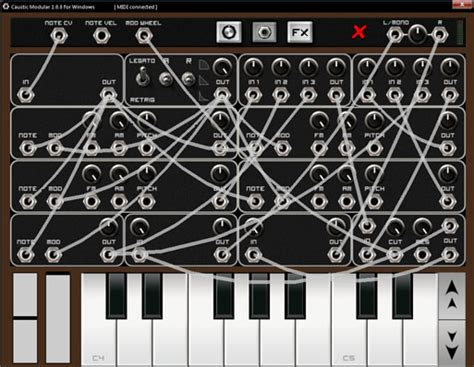 Caustic 2, Windows And Android Music