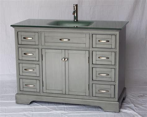adelina contemporary style single sink bathroom vanity