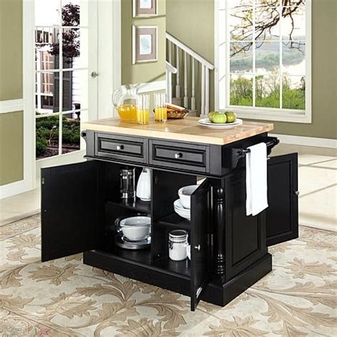 kitchen island with chopping block top butcher block top kitchen island 10069256 hsn