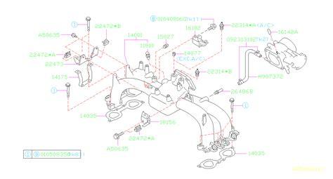 Subaru Intake Manifold Diagram by 16102aa080 Valve Assembly Duty Solenoid Manifold