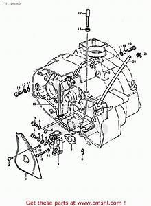 Suzuki A100 1974  L  United Kingdom  E02  Oil Pump