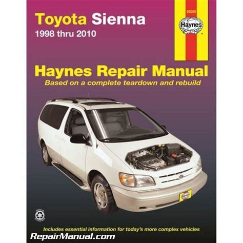 service manual hayes auto repair manual 2001 toyota sequoia free book repair manuals genuine haynes toyota sienna 1998 2010 auto repair manual