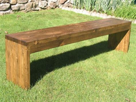 banco de madera  jardin exterior bs  en