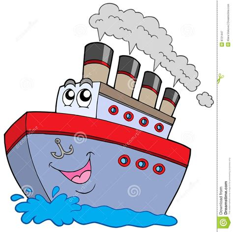 Boat Cartoon Images Free by Cartoon Boat Royalty Free Stock Photography Image 8721447