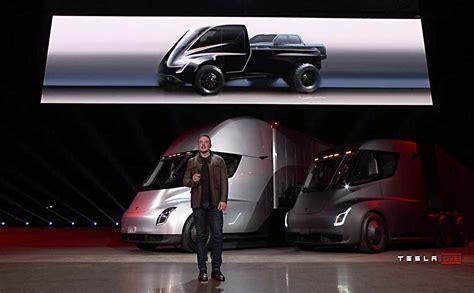 elon musk  tesla pickup truck    model