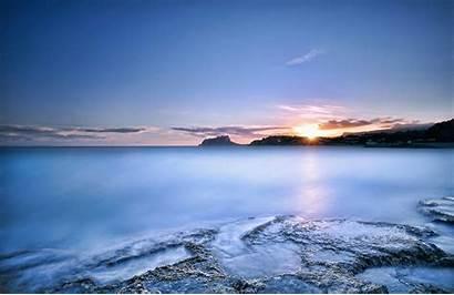 Sea Desktop Ocean Sunset Resolution 4k Wallpapersafari