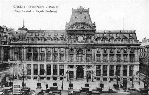 siege du credit lyonnais le siège du crédit lyonnais en 1900