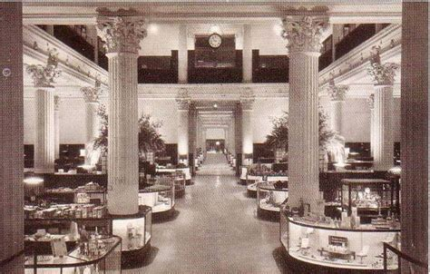 postcard chicago marshall field department store