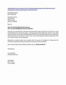 bank account closure letter With account closure letter template