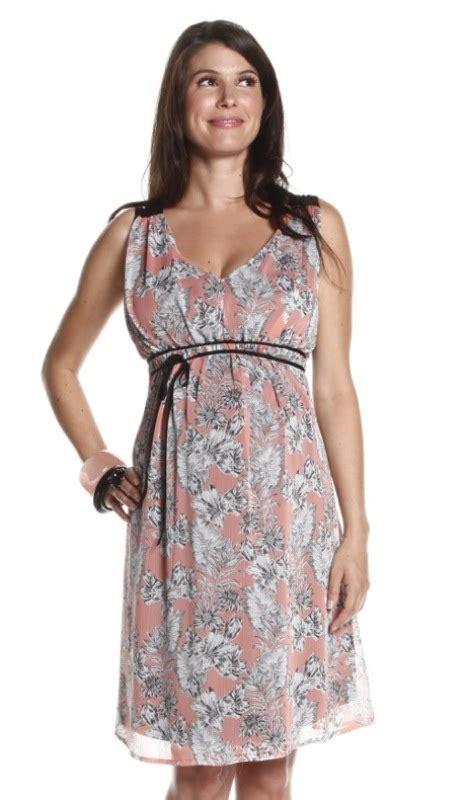 Rose Spring Maternity Dress - BellaBluMaternity.com