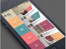 GIF Blog App by Sergey Valiukh Dribbble Dribbble