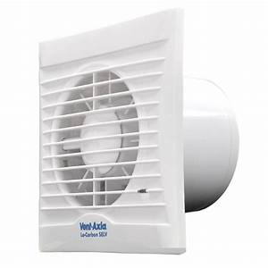 Vent Axia 441626 Lo Carbon Silhouette 100ht Humidistat And Timer