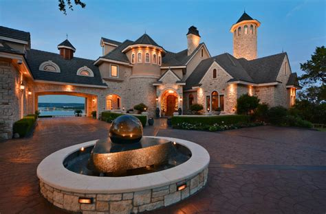 million lakefront mansion  lago vista tx homes