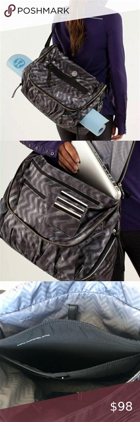 LULULEMON crossbody Moto Messenger bag in 2020 | Fashion ...