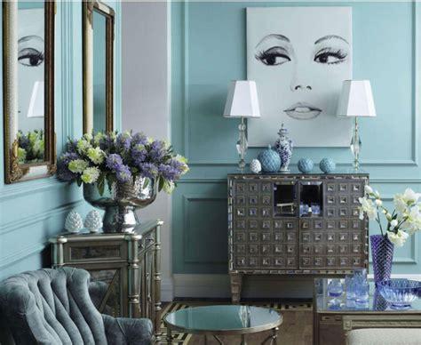 pastel blue living room interiors  color