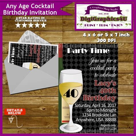 1000+ Ideas About Cocktail Party Invitation On Pinterest