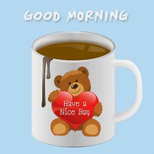 Cute Morning Teddy Wishes. Free Good Morning eCards ...
