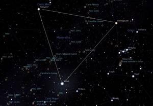 Tau Canis Majoris Cluster | Constellation Guide