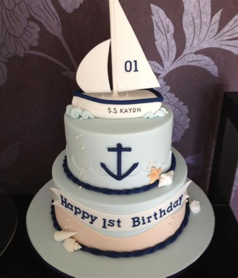 Boat Birthday Cake by Top Sailboat Cakes Cakecentral