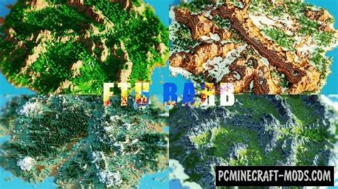 ftubarb islands map  minecraft   pc java mods