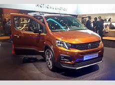 New 2018 Peugeot Rifter revealed pictures Auto Express