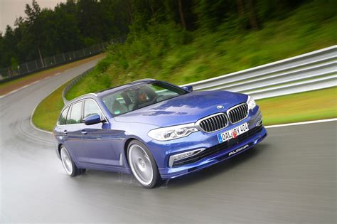 The Alpina B5 Bi-turbo Touring Is The Stretched M5 You've