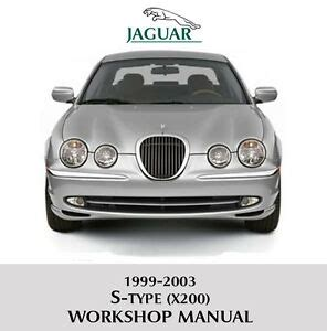 jaguar  type  workshop service repair
