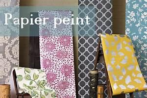 Peinture Sur Papier Peint Existant : peinture sur papier peint existant papier peint capitons ~ Dailycaller-alerts.com Idées de Décoration