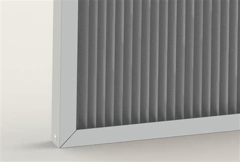 Custom high efficiency pleated filter