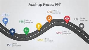 Hierarchy Template Roadmap Process Ppt Slide Ocean