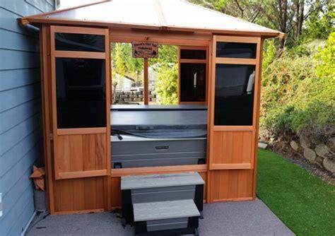 tub enclosures for sale spa enclosures and tub gazebos sv alliance woodcraft