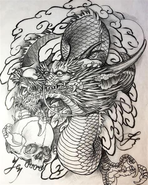 dragons tattoo images  pinterest dragon