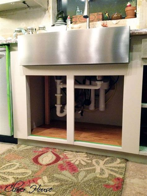 how to install a farmhouse kitchen sink installing a farmhouse sink hometalk 9415