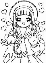 Coloring Pages Fan Electric Library Sakura Clip Clipart sketch template